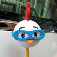 Cute Blue Glasses Chick Antenna Balls Car Aerial Ball Antenna Topper Decor Ball