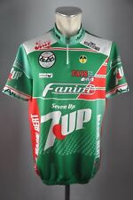 08e734344 Erima FANINI 7up Vélo Roue Maillot Taille 7 XL 58 cm Jersey Vélo Cycle n1