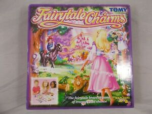 Fairytale Charms Board Game Tomy The Fairy Tale Bracelet Treasure Game Girls Toy