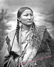 Photograph of Arapaho Indian War Chief Pretty Nose at Fort Keigh Montana Yr 1879
