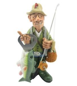 Angler mit Flaschenöffner Fisch,17 cm Sport Funny Figur Kollektion,Neu