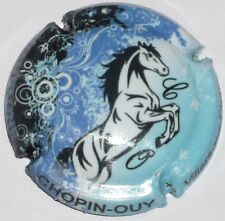 Capsule de Champagne : Extra  !!!  CHOPIN OUY , cheval bleu , n°12