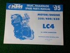 ktm 400 620 lc4 competition 1998 2003 service repair manual