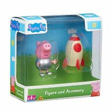Peppa Pig Figure & Accessory Spacesuit George with Rocket