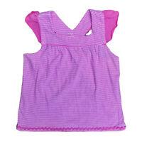 TBC girls sleeveless pink singlet top childrens siz 6 girls clothes Geelong kids
