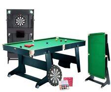 Bce 1.8m M FSP-6DB Snooker Table,Table de Billard + Fléchette Carte. Pliable