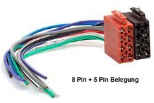 DIN ISO autoradio adattatore cavo connettore 16 Pin alimentazione F VW AUDI BMW OPEL FORD