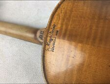 Vintage Full-size French Violin, Le-Manquis De Lair + Bow & Case.