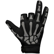Exalt Death Grip Gloves - Grey / Black - X-Large - Paintball