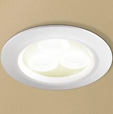 HIB Warm White LED White 5810 Shower Bathroom Kitchen Lounge Ceiling Spotlight
