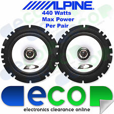 "Renault Megane MK1 Break Alpine 16cm 6.5"" 440 Watt 2 Way Front Door Car Speakers"