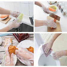 1000 x Plastic GLOVES Disposable Hygiene POLYTHENE Catering Food Mechanics Car