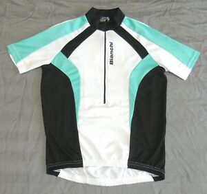 """VERY GOOD CONDITION BIANCHI JERSEY. LARGE 39"""" CIRCUMFERENCE"""