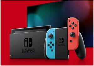 NEW Nintendo Switch (Red & Blue Joy-Con) & accessories! 6 Month Warranty!