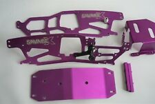 HPI SAVAGE X  PURPLE ALLOY CHASSIS SET