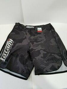 Tatami Renegade Urban Grey Camo MMA BJJ No Gi Competition Fight Board Shorts