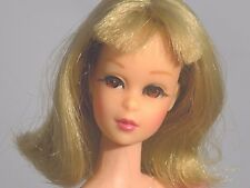 Vintage Bendable Leg Blonde Barbie Francie doll in OSS High Color Makeup N/ MINT
