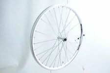FRONT QUICK RELEASE WHEEL MTB BIKE 26 x 1.75 559 DOUBLE WALL RIM ALLOY WHITE Q/R