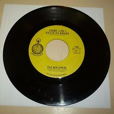 NORTHERN SOUL 45 RPM RECORD - THE WHISPERS - SOUL CLOCK 1004
