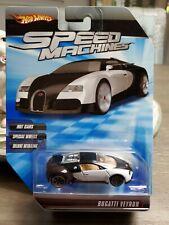 HW Speed Machines Bugatti Veyron RARE: MINT MODEL, MINT PKG. VHTF LIKE THIS!!