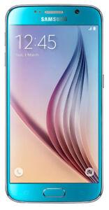 Samsung Galaxy S6 SM-G920F - 64GB - Blue Topaz (Unlocked) Smartphone