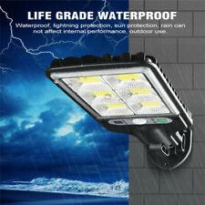 360° Solar LED Wall Street Light PIR Motion Sensor Waterproof Garden Lamp