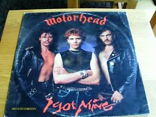 "Motorhead – I Got Mine 12"" Vinyl Single (1983)"
