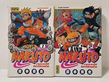 MANGA Naruto Tome n°1-2