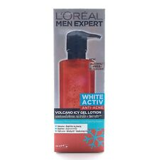 120ml L'OREAL MEN EXPERT WHITE ACTIV ANTI ACNE VOLCANO ICY GEL LOTION