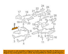 MERCEDES OEM 03-11 ML350 Exhaust-Manifold Gasket 2721420680