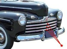 Stainless Steel Grill Bar Set 1946 Ford Car Sedan Coupe
