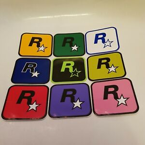 ROCKSTAR GAMES Official Starboard Stickers (A13)