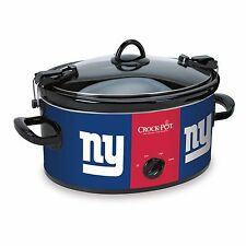 New York Giants Crock Pot Slow Cooker NFL Football NY Giant Tailgate Great Gift