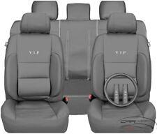 Autositzbezüge Schonbezüg Kunstleder Autositzbezug Mercedes 190 C180 220 123 Gra