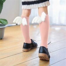 Pink Cute Sicks With Wings Socks, Angel Wing Socks