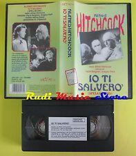 film VHS IO TI SALVERO' alfred hitchcock LEGOCART 105 minuti (F43) no dvd