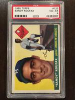 1955 Topps Sandy Koufax RC Rookie Brooklyn Dodgers HOF PSA 4 VG-EX!!🔥