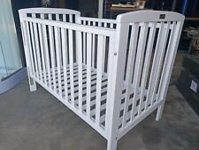 Clearance !!! NEW WOODEN BABY COT BED - WHITE - CERTIFIED AUST STANDARDS