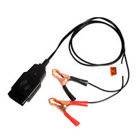 30A Car Computer Memory Saver OBD2 Battery Replacement Tools Extended Cable F2K2