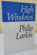 Philip Larkin / High Windows First Edition 1974
