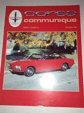 Corsa Communique Magazine External Oil Cooler December 1995 033117NONRH