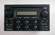 Honda Accord Odyssey CRV single CD in dash AM/FM RADIO OEM 97-04