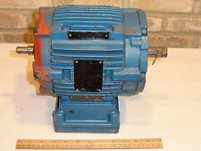 WEG W21 CC029A Explosion Proof Motor 00118XP3ER143TC 1HP 3PH 143TC 1765rpm