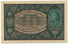 Poland 1919 10 Merek P25 CU