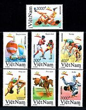 N.611-Vietnam- Summer Olympic games-Barcelona '92 set 7