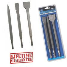SDS Chisel Set for SDS + PLUS Drills 20+40 mm Flat + Point Chasing Breaking VD44