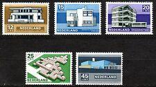 Netherlands - 1969 Summer welfare: modern architecture Mi. 915-19 MNH
