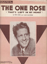 The One Rose-1936-Del Lyon/Rudy Vallee-6 pg-Sheet Music