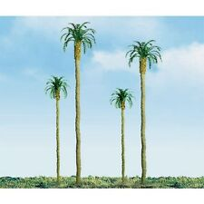 "JTT SCENERY - PRO -HO SCALE- PALM TREES - 4"" 3/PK New 94239"