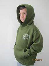 NEW THE FIRM CARP COMPANY TODDLER JUNIOR KIDS CARP FISHING HOODIE CLOTHING BAIT